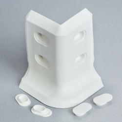Angle externe blanc 3D pour...