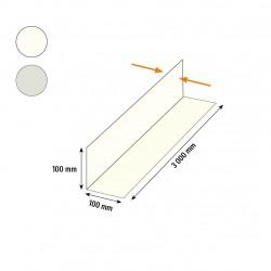 Cornière acier 100x100 blanche