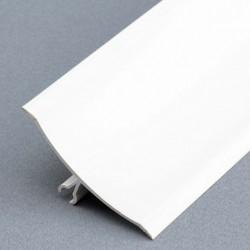 Anglerond PVC blanc à...