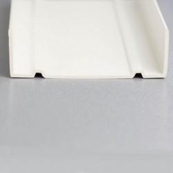 U de sol PVC de 80mm