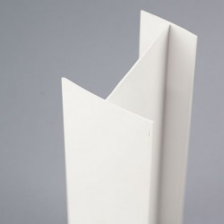 Profilé PVC en H 60mm